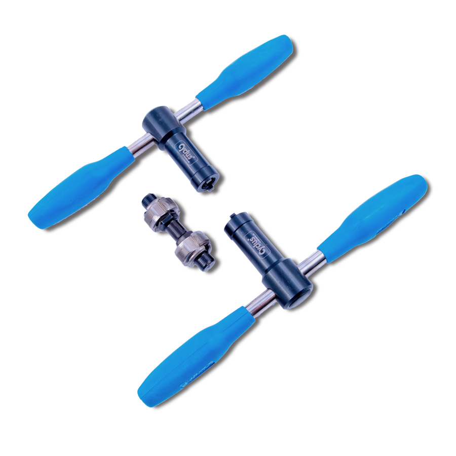 Bottom bracket shell threading tool ITA 36 x 24 tpi Cyclus tools Pro Tap Set bik